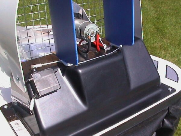 Aero rudder close up